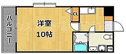 大名本田ビル[4階]の間取り