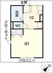 ABCコーポ[2階]の間取り