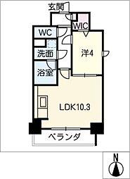 ルノンドーム A[5階]の間取り