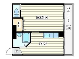 コンフォートマンション[2階]の間取り