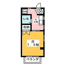 TOホーム[3階]の間取り