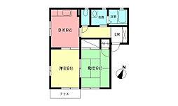 湘南ブライトC[1階]の間取り