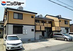 愛知県半田市青山4丁目の賃貸アパートの外観