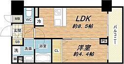 メインステージ大阪ノースマーク[12階]の間取り