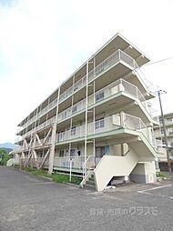 大阪府河内長野市加賀田の賃貸マンションの外観