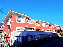東京都東村山市久米川町4丁目の賃貸アパートの外観