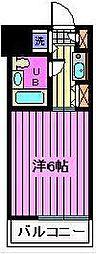 セントヒルズ武蔵浦和[208号室]の間取り