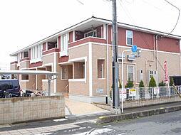 埼玉県川越市諏訪町の賃貸アパートの外観