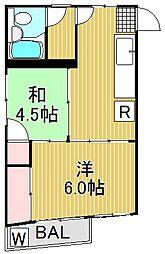 光ハウス[3階]の間取り