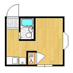 神奈川県川崎市麻生区高石3の賃貸アパートの間取り