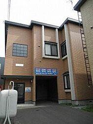 北海道札幌市西区発寒七条12丁目の賃貸アパートの外観