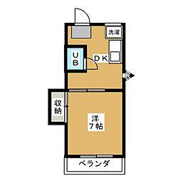 リメイン登呂[2階]の間取り