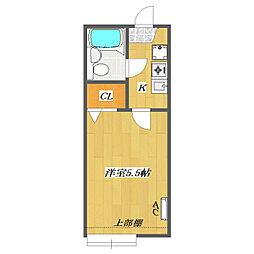 Sunny Court 〜Kitakasai〜[A108号室]の間取り