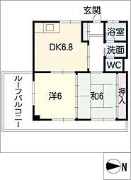 ニュー近江屋ビル[5階]の間取り