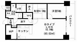 KM山坂[6階]の間取り