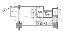 レジディア麻布台[7階]の間取り