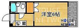 コーポ下鴨13[305号室号室]の間取り