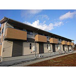 [テラスハウス] 茨城県小美玉市山野 の賃貸【/】の外観