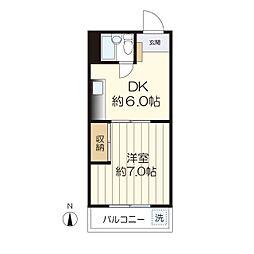 メゾン愛和西生田[303号室]の間取り