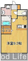 エンクレスト 博多駅東 II[8階]の間取り