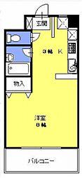 ウィンディー・ヒル[803号室号室]の間取り