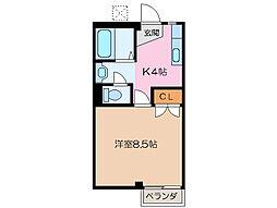 マイランドパートII[3階]の間取り
