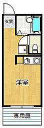 アロハ千種[101号室]の間取り