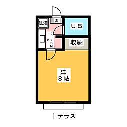 メゾン土屋[2階]の間取り