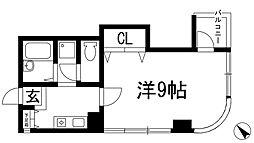 デセンテコート[3階]の間取り