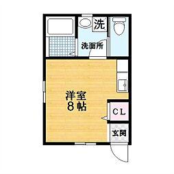 BMハイツ[2階]の間取り