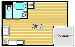 東京都墨田区立花4丁目の賃貸マンションの間取り