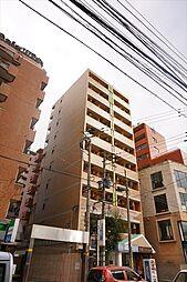 福岡県福岡市中央区今泉2の賃貸マンションの外観