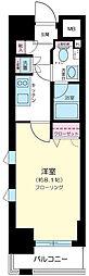 プレール・ドゥーク東京EASTIII[6階]の間取り