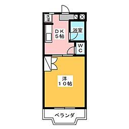 PrstigeI II(プレステージI II)[3階]の間取り