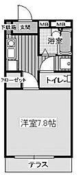シュアハイツ湘南台[101号室]の間取り