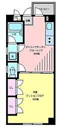 TIVIEW壱番館[3階]の間取り