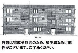 D-room可部3丁目B棟[201号室]の外観