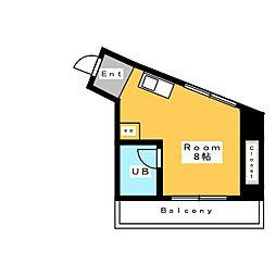 祥福マンション赤松[4階]の間取り