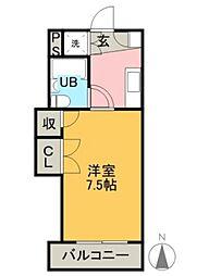 ヤングハイツ[2階]の間取り