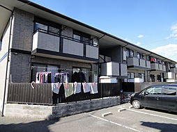 広島県広島市安佐南区東野1丁目の賃貸アパートの外観