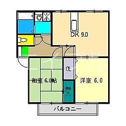 ナカツマチ[2階]の間取り