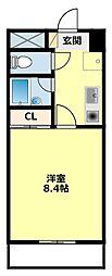 愛知県豊田市寿町8丁目の賃貸マンションの間取り