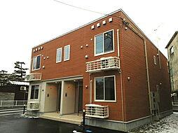 新潟県新潟市北区松浜本町1丁目の賃貸アパートの外観