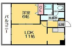トワ・サパン[4階]の間取り