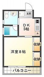 SAKURA[302号室号室]の間取り