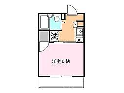 マンションクレール[2階]の間取り