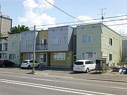 北海道旭川市九条通11丁目の賃貸アパートの外観