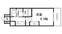 兵庫県神戸市兵庫区佐比江町7丁目の賃貸マンションの間取り