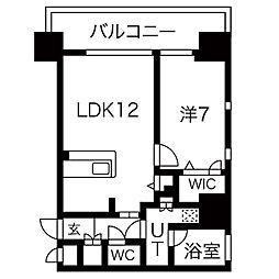 FIRST RESIDENCE SAKAE[2階]の間取り