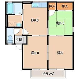 アペックスハイム[2階]の間取り